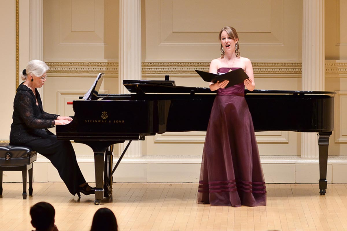 Kathryn Mueller, soprano in OSNY finals concert